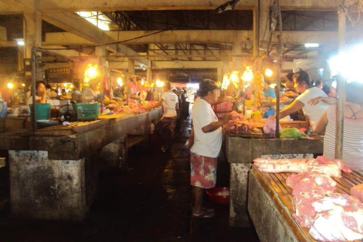 Wet Market Section