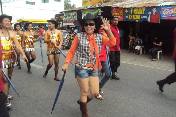 Ubbog Lipcan Barangay Captain Lourdes Reyes
