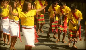 I appreciate beauty when I see one. Bolineyan doing the Taddek during the Kawayan Festival