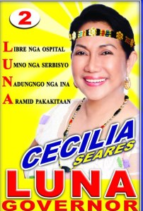 Elections 2013: Cecilia Seares Luna running for Governor