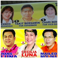 2013 Abra Candidates for the top post:. Eeny, meeny, miny, moe