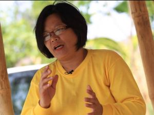 Whistleblower and challenger for the mayoral post, Bernardine Joson. Photo by Rem Zamora for ABS-CBNnews.com