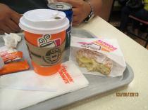 Dunkin Donuts at Mega Mal