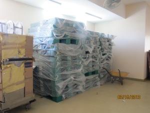 Bed foams piling up still in plastics