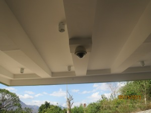 CCTV Camera at the entrance