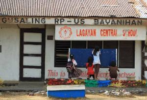 The main public school, Lagayan Central School. Photo by Rem Zamora
