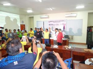Dominic Valera proclaimed as the winner in Bangued