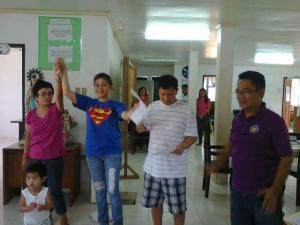 The tandem of Jendricks and Joy Luna won in Lagayan