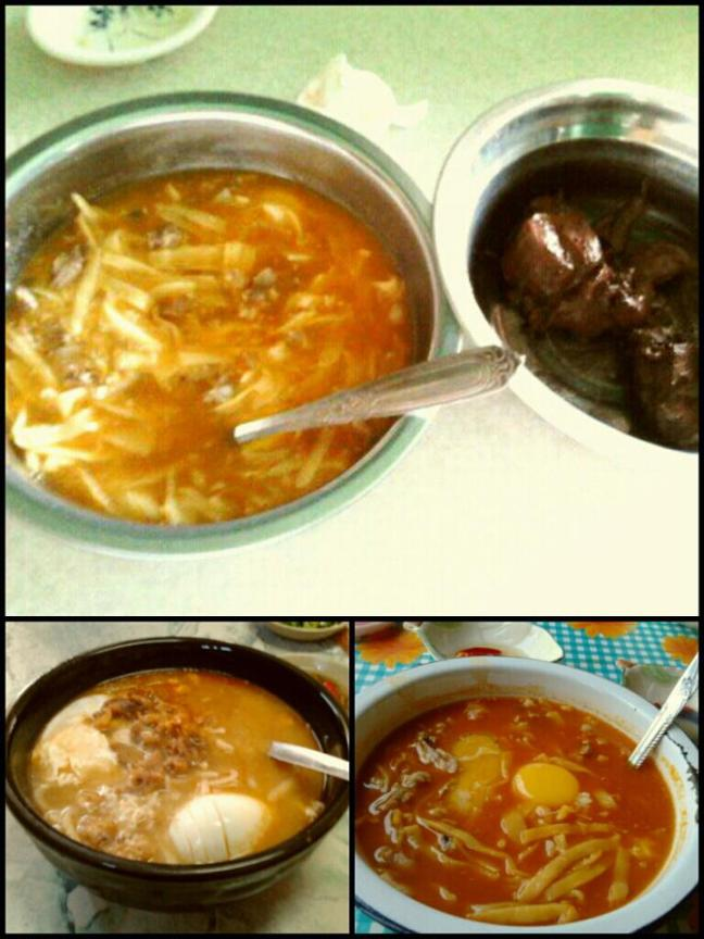 Pancit Miki: The signature food for Abrenians from all walks of life. Acosta Pancit (top photo), MK4 (below left), Putar Pancit (below right).
