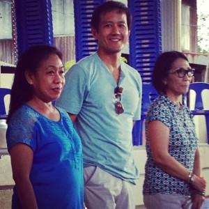 "Proponents of the pilot project entitled ""Restoring Electoral Integrity in Penarrubia, Abra"" attending the first ever Peoples' Meeting de Avance in the province. (From left to right: Prof. Cristy Rodriguez of DLSU Robredo Institute of Governance, Vincent Lazatin of Transparency and Accountability Network, and Dean Edna Co of UP - NCPAG.)"