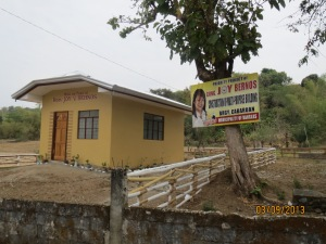 Here's a Multi-purpose building worth P350,000.00 according to Cong. Joy Bernos PDAF.