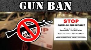 COMELEC Gun Ban