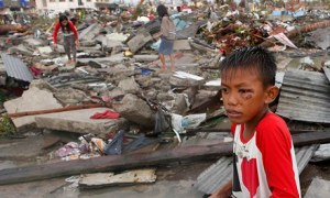 Aftermath fo Typhoon Yolanda
