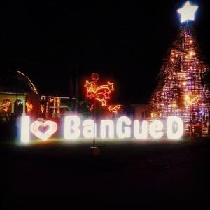 Bangued Town Plaza at nigh (via facebook)