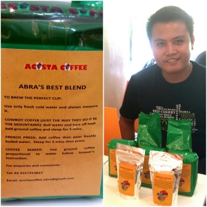 Jestonie Acosta of Acosta Coffee