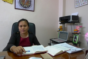Abra Election Supervisor Atty Belmes - photo by Artha Kira Paredes