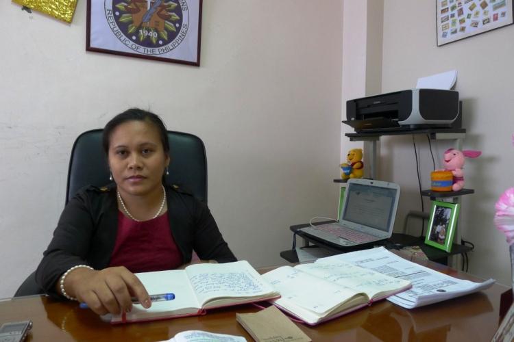 Abra Election Supervisor Atty Belmes - photo by Artha Kira Paredes