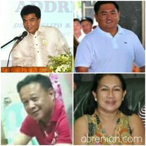 Congressional Candidates Bringas, Bernos, Bautista and Luna