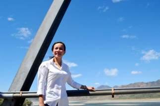 Senator Grace Poe visiting the Calaba River. Photo Credits to Bileg ti Abreno