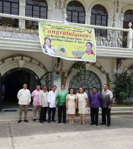 Bangued SB Members with Mila Valera (wife of the Mayor), Vice Mayor Seares : Seares, Bersamin, Bigornia, Bello, Bringas, Benedito